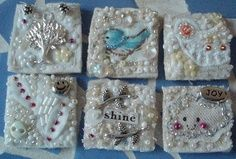 fabric inchies tutorials - Google Search