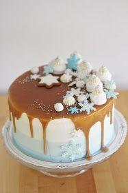 Winter Wonderland Cake on Cake Central Winter Wonderland Cake, Cake Central, Themed Cakes, Panna Cotta, Cake Recipes, Cake Decorating, Bakery, Frozen, Birthday Cake