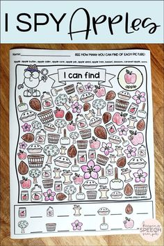 Love I SPY games? Check out these fall themed printables that target 50 vocabulary words. Themes include: apples, fall plants, fall activities/actions, farm and fall objects. Students will be motivated to expressively use vocabulary while searching for seasonal vocabulary. Use in therapy sessions, virtural learning or send home with families. Ideal for your kindergarten and elementary students. These worksheets work well with mixed groups and as independent work in classes! Easy to use and fun!