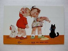 OO.. How We Miss You Kids and Cat Crying