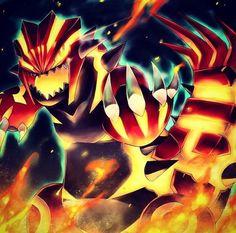 Primal Groudon! #Pokemon