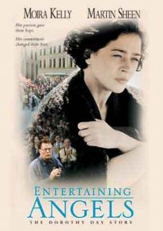 Martin Sheen and Moira Kelly in Entertaining Angels: The Dorothy Day Story Brian Keith, Martin Sheen, Heather Graham, Christian Videos, Christian Movies, Moira Kelly, Angel Movie, Dorothy Day, Entertaining Angels