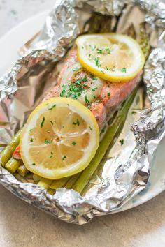 Foil Baked Salmon Recipe Primavera Kitchen