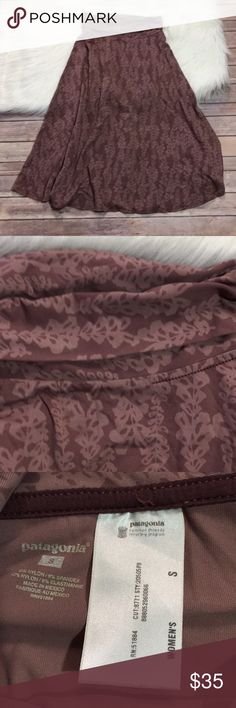Patagonia Long Skirt Great condition   There is some stitching loose as shown Patagonia Skirts