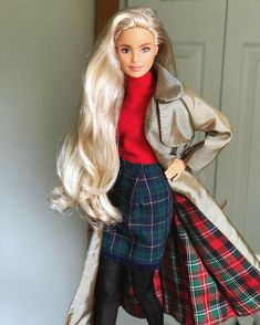 Barbie Fashionista Dolls, Diva Dolls, Dolls Dolls, Cute Fall Jackets, Barbie Summer, Barbies Pics, Girl Outfits, Casual Outfits, Doll Clothes Barbie