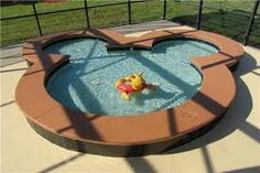 For next year - all booked up this time - Awesome 14 Ft Mickey Pool, 45 Ft Pool, Spa, Games Room, 2 Mi to Disney Vacation Villas, Florida Vacation, Disney Rooms, Disney House, Mickey Mouse Bedroom, Disney Garden, Disney Bathroom, Vacation Rentals By Owner, Estilo Disney
