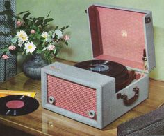 pink phonograph: