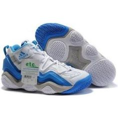 Adidas Top Ten 2000 Retro(Kobe Bryant Shoes) in white and blue  11bd77a98