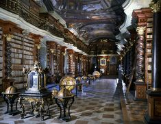 Klementinum National Library of the Czech Republic.   Knowledge Era: The World's Most Beautiful Libraries