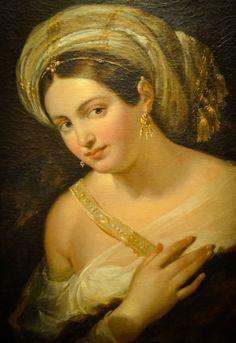 Rembrandt van Rijn (Dutch, - Woman with Turban, Baltimore Museum of Art, Baltimore, MD Rembrandt Art, Rembrandt Paintings, Rembrandt Portrait, Dutch Artists, Famous Artists, Dutch Golden Age, Classic Artwork, Famous Artwork, Dutch Painters