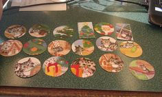 17 pc set Vintage Kitty Cat Christmas Scrapbooking by amylaugh, $3.95