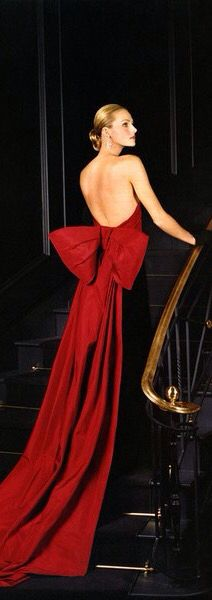 The ultimate red dress, we think. Ralph Lauren does it again!