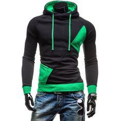 Hot Sale Autumn Men Hoodies Casual Hoody Sweatshirt Men Fashion Patchwork Brand Hoodie Jacket Man Pullovers Sportswear M 3XL QWZ-in Hoodies & Sweatshirts from Men's Clothing & Accessories on Aliexpress.com   Alibaba Group
