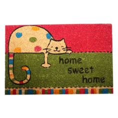 Felpudo Gato Sweet Home