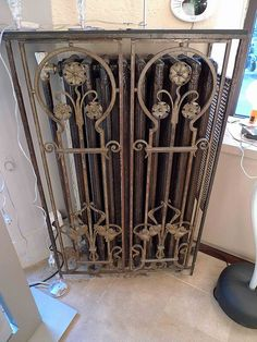 5 Art Nouveau radiator guard, Paris 75004 | Flickr - Photo Sharing!