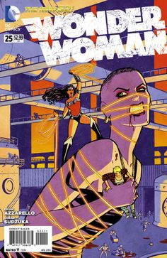 Wonder Woman n°25. Cover by Cliff Chiang