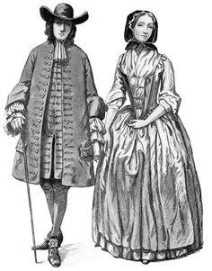 Colonial Fashion: Quaker Gentleman & Lady