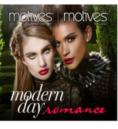 Get swept away in contemporary tales of love, passion and cosmetics with the Motives Modern Day Romance Collection. Inspired by trends from the Fall/Winter 2013 runways, this collection features products that range from playful and feminine to edgy and fierce. Tell your story with the new Motives Modern Day Romance Collection!