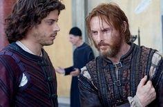Cesare Borgia and Micheletto    The Borgias