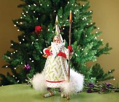 Patience Brewster Candlelight Santa Figure - Krinkles Christmas Décor New 08-30686 >>> Learn more by visiting the image link.