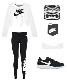 Nike all day by brittanygailyoung on Polyvore featuring polyvore, NIKE, fashion, style and clothing