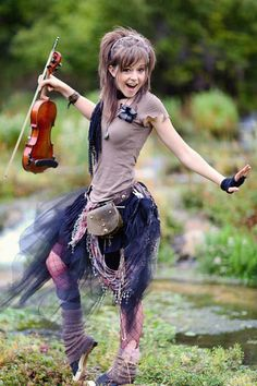 My crush everyone: Lindsey Stirling