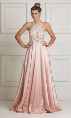 Vestido Longo Rosa Quartz - ALUGUE NA SAY YES 2 THE DRESS