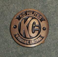 Men's Vintage KC HILITES WILLIAMS ARIZONA Collectible Belt Buckle, GUC!