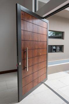 Van Acht inspiration gallery is all you need for inspiration for your project. See Van Acht windows and doors in action. Modern Entrance Door, Main Entrance Door Design, Modern Exterior Doors, Wooden Main Door Design, Sliding Door Design, Modern Door, Home Door Design, Grill Door Design, Door Design Interior