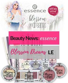 Preview der essence blossom dreams trend edition - die erste frühlingshafte Limited Edition des Jahres!