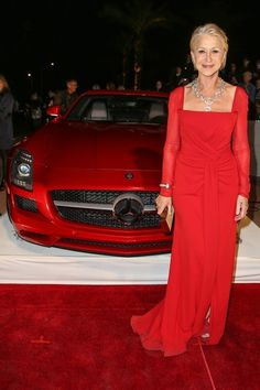 Use transport to accent your look. -Advice from Helen Mirren, Judy Dench and Maggie Smith