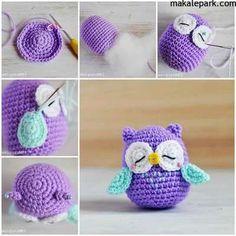 Mesmerizing Crochet an Amigurumi Rabbit Ideas. Lovely Crochet an Amigurumi Rabbit Ideas. Owl Crochet Patterns, Crochet Owls, Crochet Diy, Easy Crochet Projects, Crochet Amigurumi, Owl Patterns, Crochet Stitch, Crochet Animals, Crochet Crafts