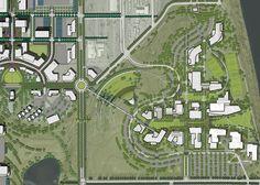 Landscaping Software For Ipad University Architecture, Urban Design Plan, Washington State University, Landscaping Software, Tri Cities, Landscape Plans, Master Plan, Urban Planning, How To Plan