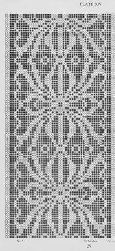 Crochet border Crochet Borders, Crochet Chart, Filet Crochet, Crochet Motif, Crochet Doilies, Crochet Stitches, Crochet Patterns, Beading Patterns, Hand Embroidery