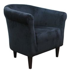 Zipcode Design Microfiber Barrel Chair