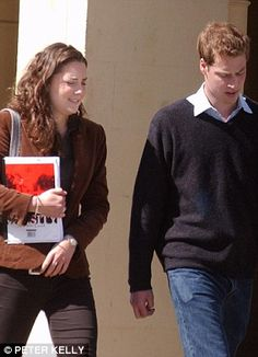 In the beginning! Kate Middleton & Prince William