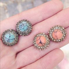 SALE‼️ ACCEPTING REASONABLE OFFERS! ALL JEWELRY! These earrings are a brand new retail item! We only use the highest quality crystals & stones for all of our jewelry, giving our pieces lots of sparkle and an expensive look! Every piece has been given the upmost time and care when created and has been made and designed with quality and durability in mind. Every piece is nickel and lead free. Almost every item is an exclusive item; meaning once sold its gone for good. Jewelry Earrings