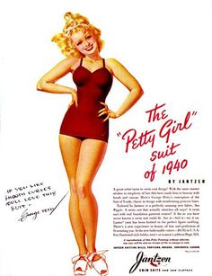 The Petty Girl Suit - http://www.pinuppassion.com/pin-up-art.htm