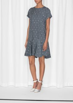 & Other Stories | Relaxed Geometry Dress