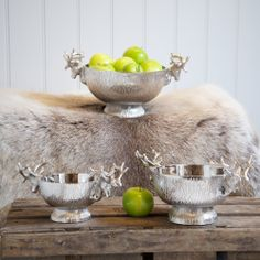 Stag Deep Bowls. Majestic homeware accessories inspired by the beauty of the Stag | Culinary Concepts