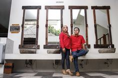 Red Couple    | Pre Wedding Photo Session Tata & Guntur |   By. Sate Creative