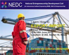 NEDC: export import program by nedc is the aptness to su...