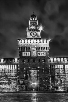 Sforzesco Castle. Credits by Andrea Conti. #WonderulExpo2015 #WonderfulMilan