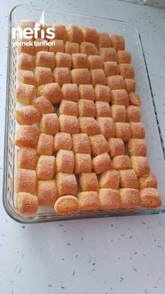Lokmalık Semolina Dessert - Delicious Recipes - sure to snag nacar No Bake Desserts, Delicious Desserts, Yummy Food, East Dessert Recipes, Bread Recipes, Cooking Recipes, Ice Cream Pies, Cooking Time, Food And Drink