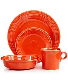 HLC Fiestaware Poppy Orange Fiesta Spoon Rest Kitchen Counter Top Utensil Gadget