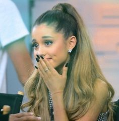 Ariana Grande Appeared on Good Morning America - July Ariana Grande latest photos Ariana Grande Nails, Ariana Grande 2014, Good Morning America, Dangerous Woman, Best Anti Aging, Agra, Black Nails, Stay Fit, Hair Inspiration
