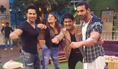 Get 'Dishoom-ed' on 'The Kapil Sharma Show'..  Read More:http://tvarticles.me/get-dishoom-ed-kapil-sharma-show/