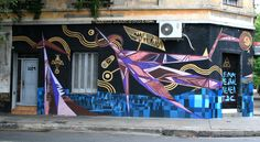 Triangulo Dorado, Buenos Aires - unurth | street art