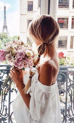 paris morning flowers magic