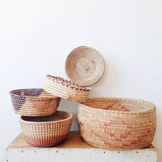 Vintage+Southwestern+and+Native+Basket+Collection+-+geometric%2C+planter%2C+ombre